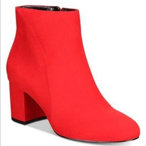 INC international concepts Red Booties